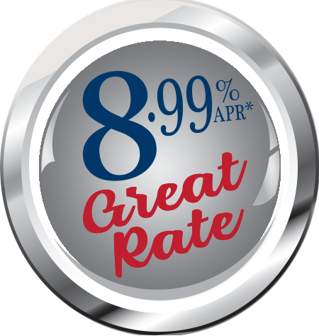 8.99% APR Button