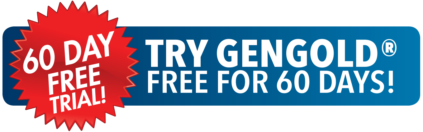 Try GenGold Free for 60 days