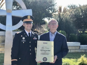 First Community Bank Awarded Prestigious Department of Defense Pro Patria Award