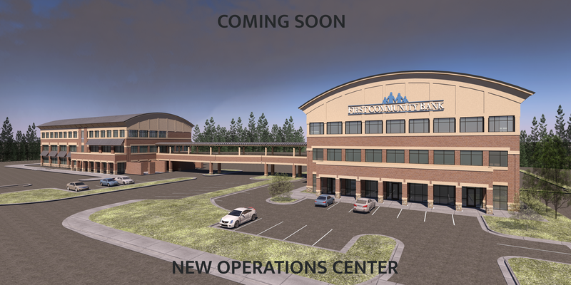 First Community Bank to Break Ground on Main Branch Operations Center Addition