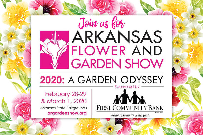 First Community Bank to Sponsor Arkansas Flower and Garden Show