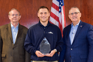 FIRST COMMUNITY BANK'S CHRIS MILUM HONORED BY ABA